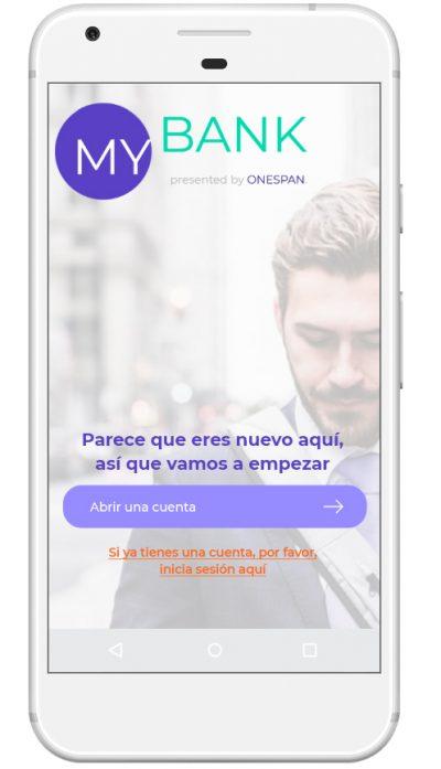 Paso 1 - Abrir una nueva cuenta bancaria online o mediante un dispositivo móvil